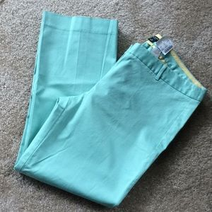NWT J Crew City Fit cropped pants size 10